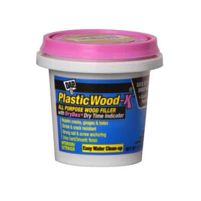 Plastic Wood-X with DryDex 5.5 oz. All-Purpose Wood Filler
