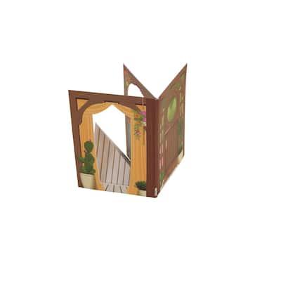 Backyard Resort Storybook Playroom