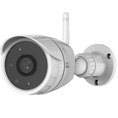 Wireless Outdoor Video Security Camera with Smartphone Monitoring and Night Vision