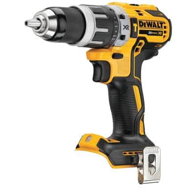 20-Volt MAX XR with Tool Connect Cordless Brushless 1/2 in. Hammer Drill/Driver (Tool-Only)