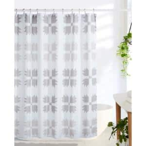 Bear Claw 72 in. Taupe Shower Curtain