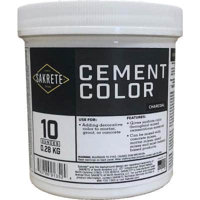 10 oz. Cement Color Charcoal