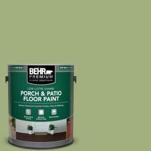 1 gal. #M360-5 Fresh Guacamole Low-Lustre Enamel Interior/Exterior Porch and Patio Floor Paint