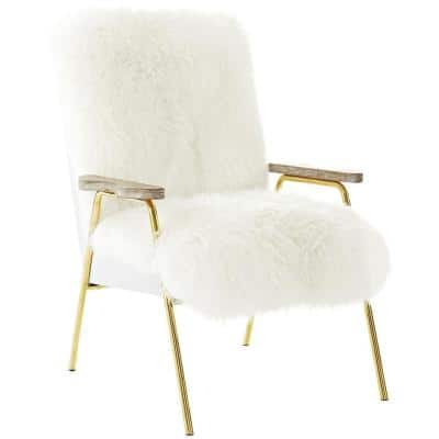 Sprint Brown White Sheepsk Armchair