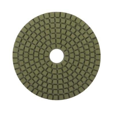 4 in. 1500 Grit Resin Wet Polishing Pad