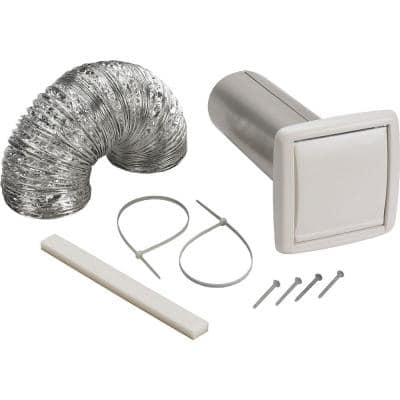 Wall Vent Ducting Kit