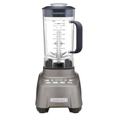 Hurricane 60 oz. 2-Speed Programmable Gunmetal Blender