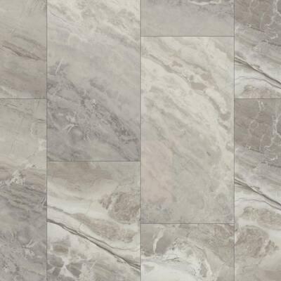 Vista 12 in. W x 24 in. L Refuge Click Lock Vinyl Tile Flooring (15.83 sq.ft./case)