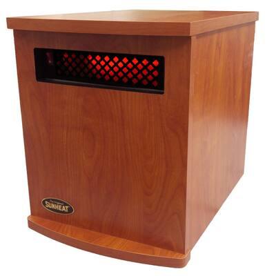 Original USA1500 5-Year Warranty Infrared Heater, Cherry