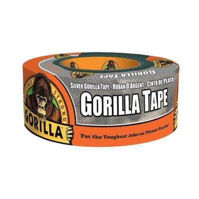 1.88 in. x 12 yd. Silver Duct Tape (6-Pack)