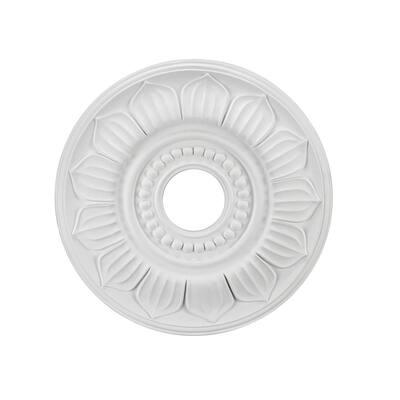 18 in. White Ceiling Medallion