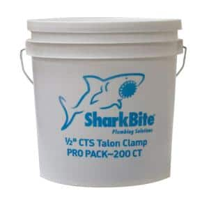 1/2 in. PEX Pipe Talon Clamp (200-Pack)