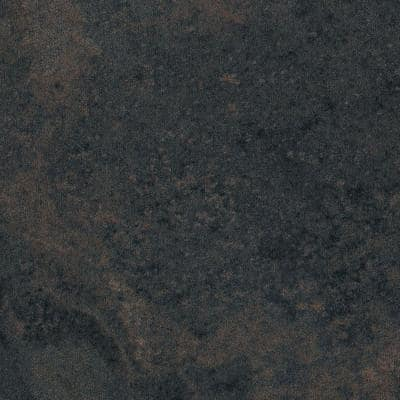 2 in. x 3 in. Laminate Sheet Sample in Rustic Slate with Standard Fine Velvet Texture Finish