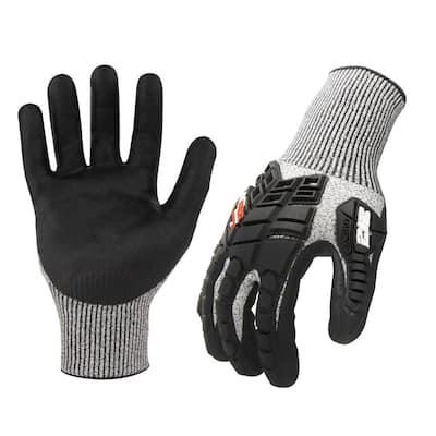 AX360 Impact Cut Resistant Large Work Gloves (EN Level 5, ANSI A3)