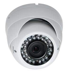 Wired Indoor/Outdoor Night Vision Vandal Proof Dome Standard Surveillance Camera with 1000TVL Resolution