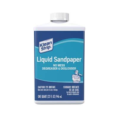 1 qt. Liquid Sandpaper Cleaner & Deglosser