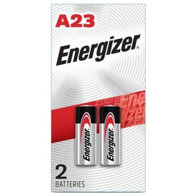 A23 Batteries (2 Pack), 12V Miniature Alkaline Specialty Batteries