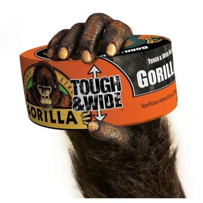 25 yds. Tough and Wide Black Duct Tape (2-Pack)