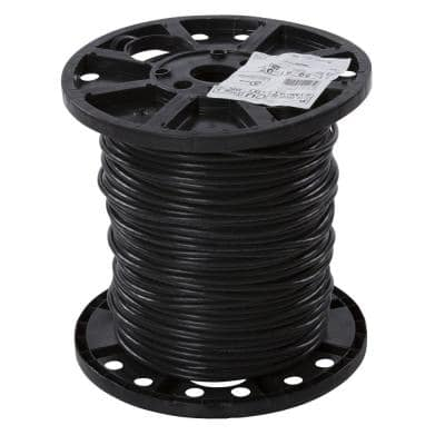 500 ft. 6 Black Stranded XHHW Wire