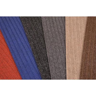 Stair Treads Collection Beige 8 Inch x 30 Inch Indoor Skid Slip Resistant Carpet Stair Treads Set of 13