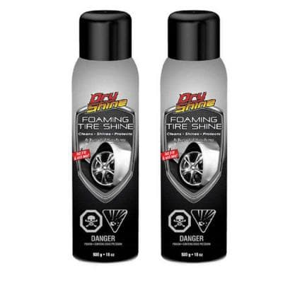 Foaming Tire Shine 18 oz. Car Detailing (2-Pack)