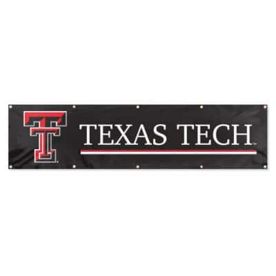 Texas Tech Red Raiders Giant 8 ft. x 2 ft. Banner