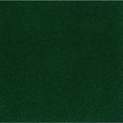 Peel and Stick Grizzly Grass 24 in. x 24 in. Fern Artificial Grass Carpet Tiles (15-Pack)