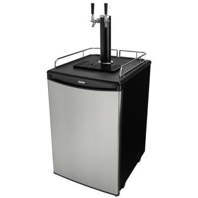 2-Tap 1/2 Beer kegerator Dispenser