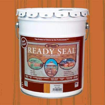 5 Gal. Redwood Exterior Wood Stain and Sealer