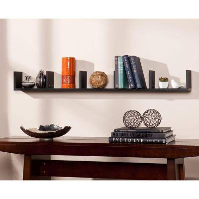 Midge Decorative Shelf in Black