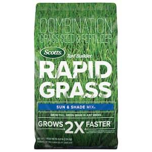 Turf Builder Rapid Grass 16 lbs. Sun and Shade Grass Seed