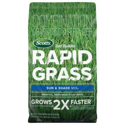 Turf Builder Rapid Grass 16 lbs. Sun and Shade Grass Seed