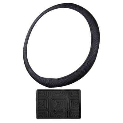 Ultra Comfort Flexible Leatherette Steering Wheel Cover