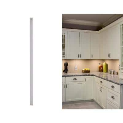 24 in. LED Warm White 2700K, Dimmable, 1-Bar Under Cabinet Lights Kit with Hands-Free On/Off (Tool-Free Plug-in Install)