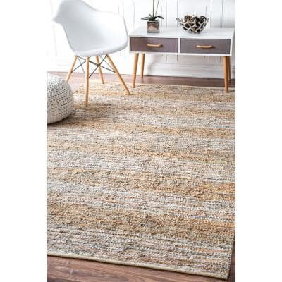Leather 5 X 8 Area Rugs Rugs The Home Depot