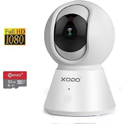 Wireless Indoor Dome Security Surveillance Camera Infrared 1080p Night Vision