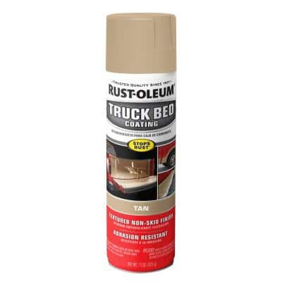 15 oz. Tan Truck Bed Coating Spray (6-Pack)