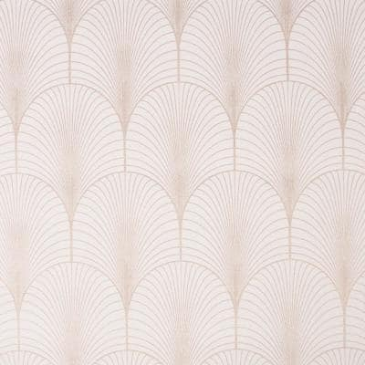 Josephine Art Deco Pink Paper Strippable Roll (Covers 56 sq. ft.)