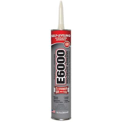 10.2 fl. oz. Clear Medium Viscosity Cartridge Adhesive (12-Pack)
