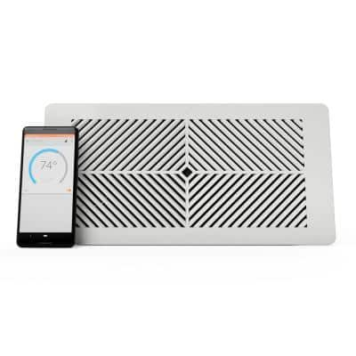 4 in. x 10 in. Smart Vent, Floor/Wall/Ceiling Register - Smart Vent for Home Heating and Cooling