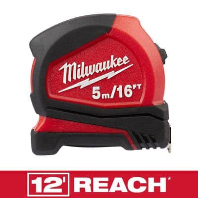 5 m/16 ft. Compact Tape Measure