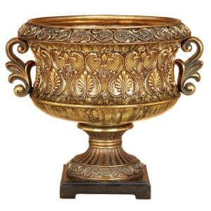 Gold Resin Traditional Decorative Bowl