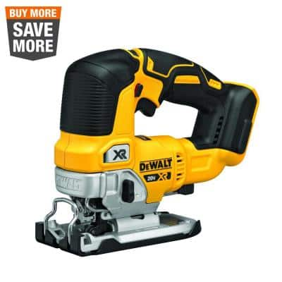 20-Volt MAX XR Cordless Brushless Jigsaw (Tool-Only)