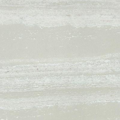4 in. Cultured Marble Vanity Top Sample in Light Coco