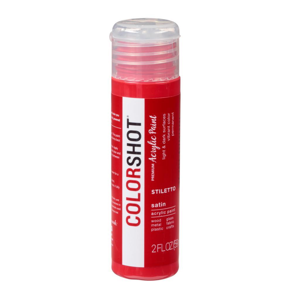 2 oz. Stiletto Red Craft Paint
