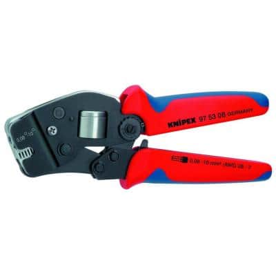 7-1/2 in. Crimping Pliers with Self Adjusting
