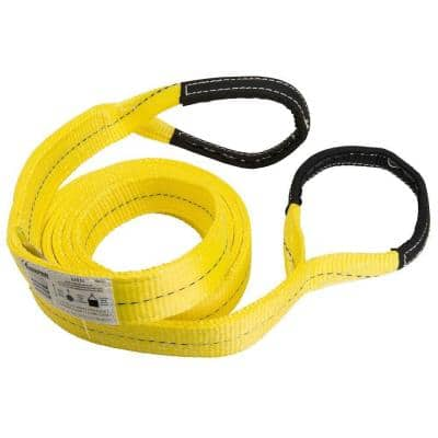 2 in. x 16 ft. 2 Ply Flat Loop Polyester Lift Sling