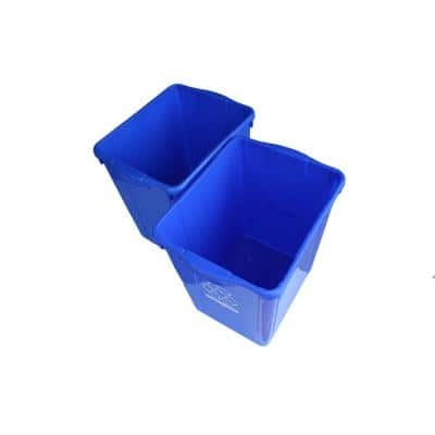 22 Gal. Recycling Box (2-Pack)