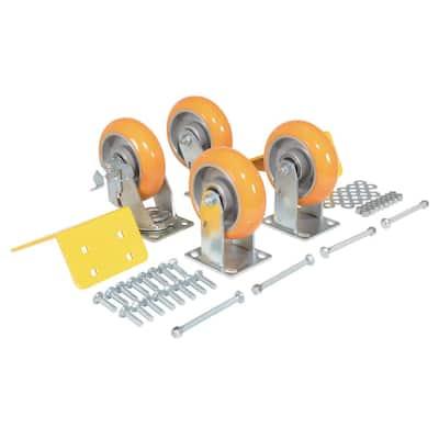 High Grade Polyurethane Caster Kit 5000#
