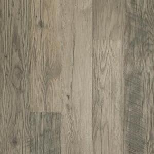 Outlast+ Waterproof Highrock Grey Oak 10 mm T x 6.14 in. W x 47.24 in. L Laminate Flooring (16.12 sq. ft. / case)